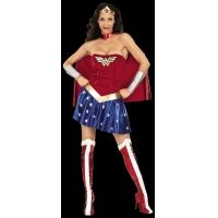 Wonder Woman Adult w/Skirt