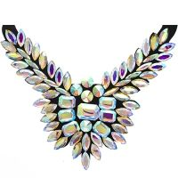 Crystal Necklace Motif - Wings