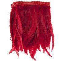 Red Strung Feathers