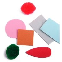 Foam Shapes, Stamps, Stickers