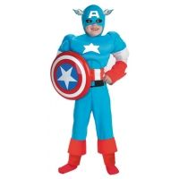 Captain America Deluxe Muscle Child
