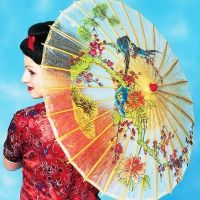Parasols, Umbrellas and Fans