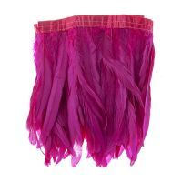 Pink Strung Feathers
