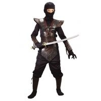Ninja Fighter Black Leather