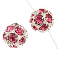 Rhinestone Round Beads 12mm