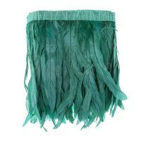 Green Strung Feathers