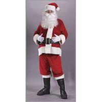 Santa Suit Rich Velvet