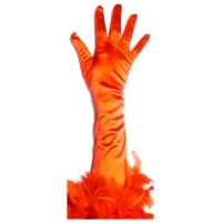 Gloves with Feathers