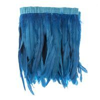 Blue Strung Feathers