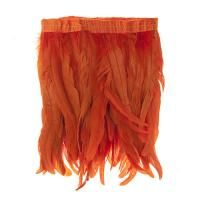 Orange Strung Feathers