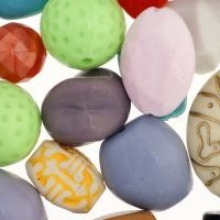 Plastic Craft Beads